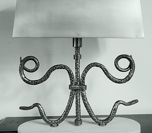 Serpentine Lamps